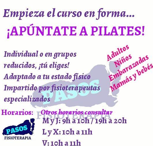 Pilates promoción
