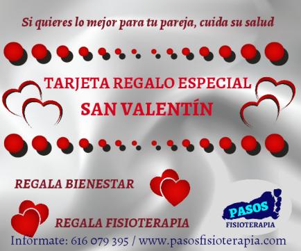 Tarjeta Regalo San Valentín